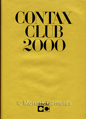 Contax Club 2000 Book, More Camera & Lens Photographic Manuals & Guides Listed.