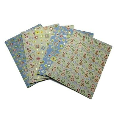 10 Sheets of Luxury Shapes Gift Wrap and Tags- New Born, Birthday, Christmas etc