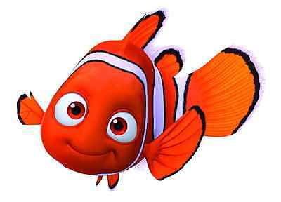 """Finding Nemo Iron On Transfer 5"""" x 6.75"""" for LIGHT Colored Fabric"""