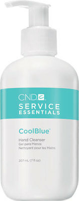 100% CND ESSENTIALS COOL BLUE WATERLESS HAND CLEANSER (236ml)