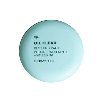 [THE FACE SHOP] Oil Clear Blotting Pact - 9g