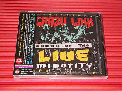 2016 CRAZY LIXX SOUND OF THE LIVE MINORITY with Bonus Track JAPAN CD