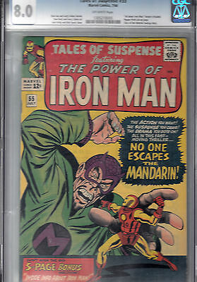 Tales Of Suspense #55 (July 1964) 3Rd Mandarin * Pepper Potts Pin-Up *  Watcher
