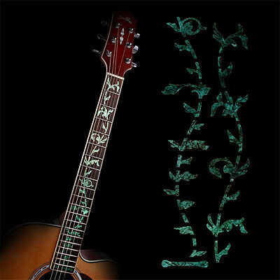 Tree Of Life Acoustic Electric Guitar Fretboard Inlay Sticker Decal DIY Green