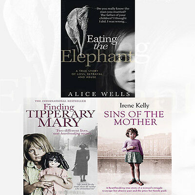 Eating the Elephant,Sins of the Mother,Finding Tipperary 3 Books Collection Set