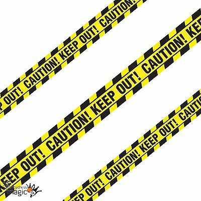 *6.1m Halloween Party Caution Keep Out Warning Tape Streamer Banner Decoration*