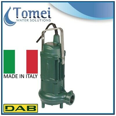 DAB SEWAGE Pump WITH CUTTING SYSTEM GRINDER 1800 T 1,5KW 3X400V