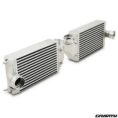 Twin Aluminium Turbo Intercooler Fmic Pair Kit Porsche 911 996 997 Gt2 Rs 01-09
