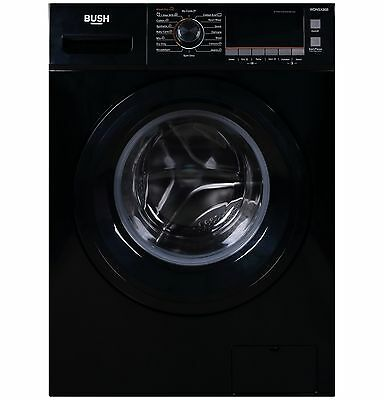Bush WDNSX86B Free Standing 8/6KG 1400 Spin Washer Dryer - Black. From Argos