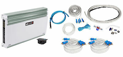 MB QUART NA710.5 710 Watt RMS 5-Channel Nautic Marine Boat Amplifier+Amp Kit