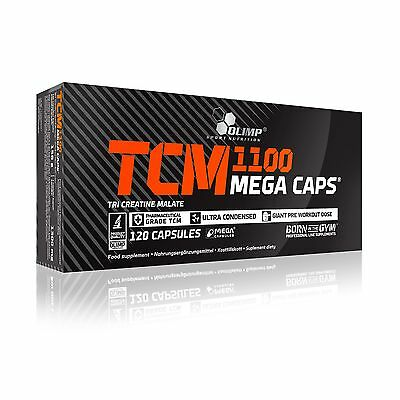 OLIMP TCM 120 MEGA CAPS tri creatine malate pre workout