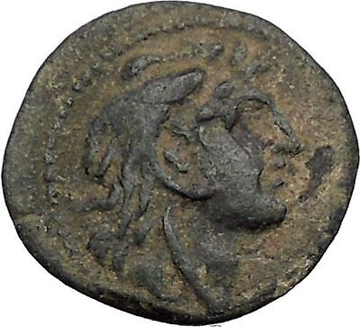 ALEXANDER I BALAS 152BC Seleukid Apollo RARE R1 Ancient Greek Coin i56496
