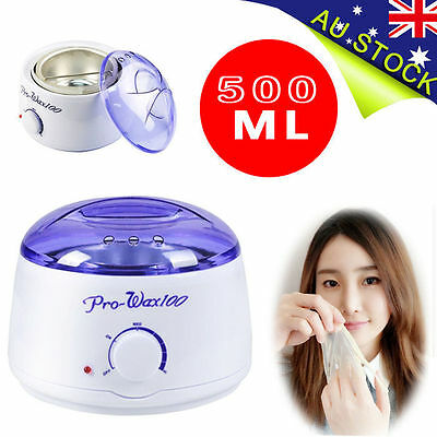 Waxing Wax Paraffin Pot Warmer Heater Hair Removal Salon Beauty Equipment 500ml