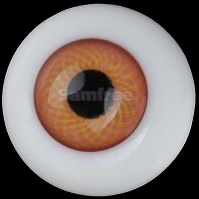 18mm Pair BJD Doll Dollfie Glass Eyes Fit SD DOD LUTS