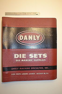 #JB13 DANLY Die Sets - Die Makers' Supplies 11th Edition Catalog 1956