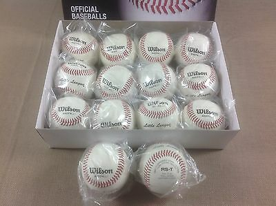 New Wilson A1074LL1 (14) Baseballs RS-T Stamped Sealed Super Quick Shipping