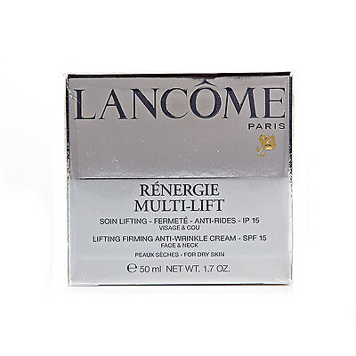 Lancome Renergie Multi-Lift Lifting Firming Anti Wrinkle Cream For Dry Skin 50Ml