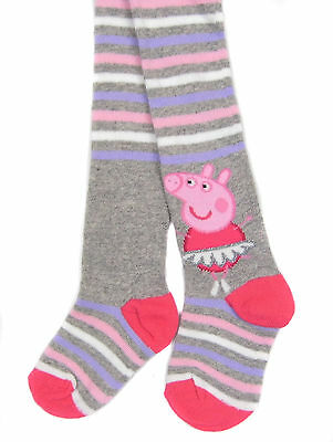 Toddler Girls Peppa Pig Tight One Pair 18-24 Months Fairy Peppa Pig Striped