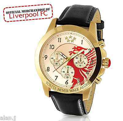 Liverpool Football Club  CHRONOGRAPH MENS WATCH  Officially licensed.