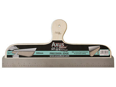 Axus Decor AXU/SE50 500mm Precision Straight Edge & Wallpapering Tool