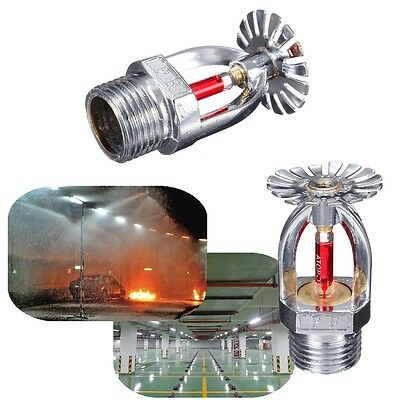 68℃ ZSTX-15 Pendent Fire Sprinkler Head For Fire Extinguishing System Protection
