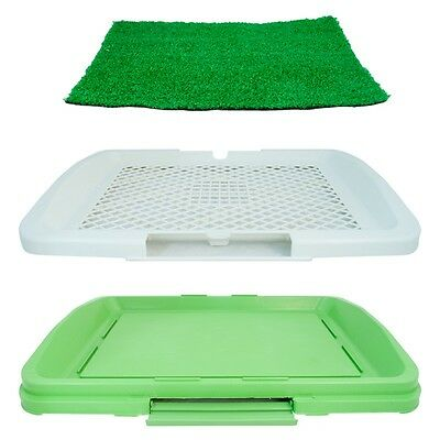 No Mess Puppy Training Potty Dog Tray Indoor House Toilet Pet Mat Trainer Litter