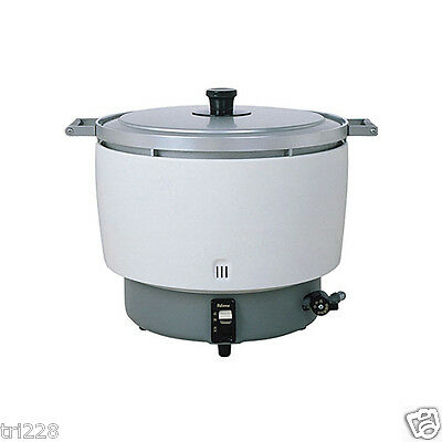 Paloma 55 Cup Commercial Gas Rice Cooker, (LP Propane) PR10DSS  NSF JAPAN