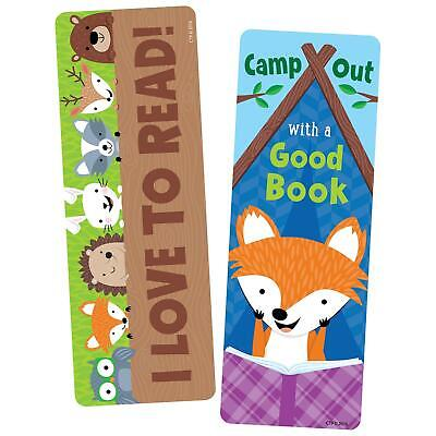 Camp Out with a Good Book Bookmarks - Pack of 30 - Class Gift - Teacher Resource