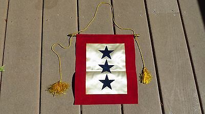 Ww2 Us Army Military Son In The Service Flag 3 Stars