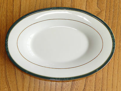 Boots (Noritake) Saucer or Stand for Gravy or Sauce Boat - HANOVER GREEN