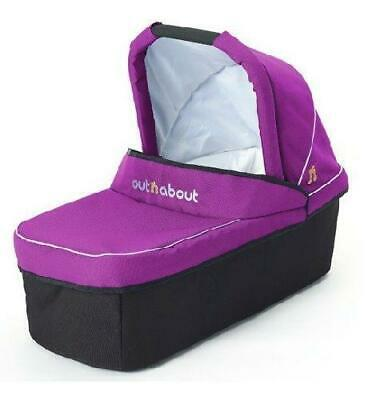 Out n About Nipper Carrycot (Purple Punch)