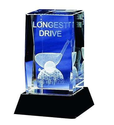 Golf Longest Drive Crystal Trophy Celebrate Great Society Day In Style
