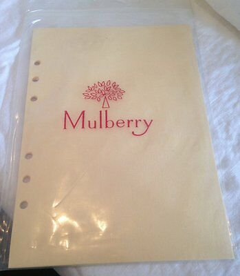 Genuine Mulberry 5 Blotting paper stationery A5 New but vintage - others availab