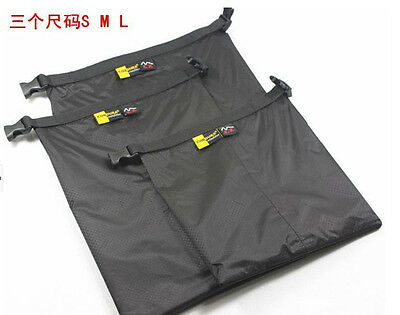 3PC Set Storage Bags Lightweight Dry Sack for Outdoor Camping Waterproof G469