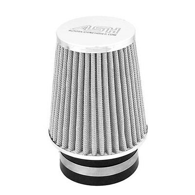 Single Cone Air Performance Upgrade Filter Conical Mesh Chrome Top Universal