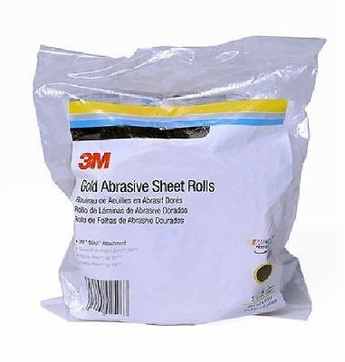 3M 02589 Stikit Gold 2-3/4 Inch x 45 Yard P500A Grit Sheet Roll [Automotive]
