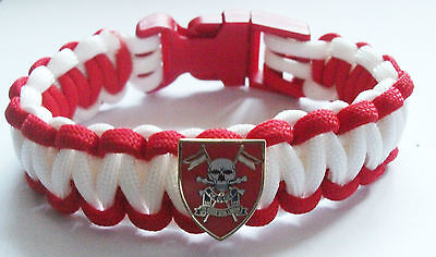 Queens Royal Lancers Paracord Wristband