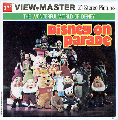 Disney on Parade Edition B - ViewMaster 3 Reel Packet B517- G3