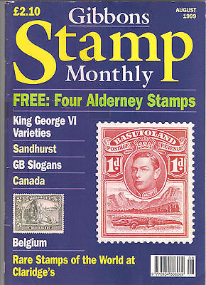 Stanley Gibbons Stamp Monthly Magazine August 1999