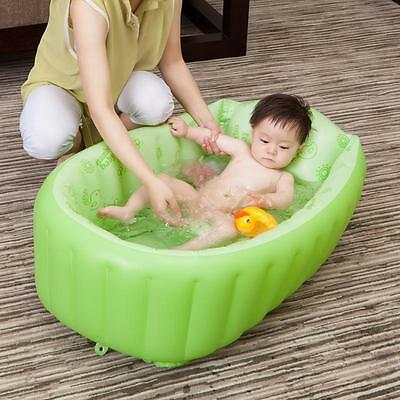 Summer Mambobaby Creative Fresh Baby Inflatable Tub Portable Thick Baby Toddler