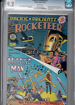 PACIFIC PRESENTS #1  CGC 9.2  Dave Stevens  & Steve Ditko cover, art & stories