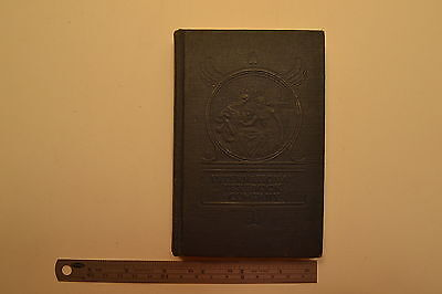 Mechanics  Handbook 1943 Book 4 Machinist Toolmaker Welder Machine 1rst Ed Jb22