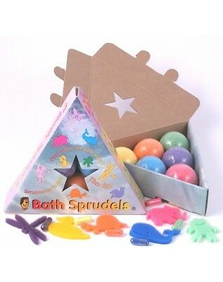 Selection Pack 6 colourful Bath Sprudels release the sponge characters! Sprudel