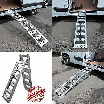 240mm Wide Track Folding Aluminium Motorcycle/Bike/Motorcycle Loading Ramp