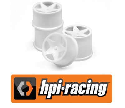 HPI 114286 Super Star Wheel Set (White/4Pcs) for Q32 RC Car