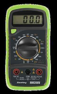 Sealey Digital Multimeter 8 Function with Thermocouple Hi-Vis