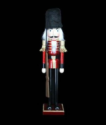 Gisela Graham Traditional Giant Nutcracker Soldier Christmas Display Decoration