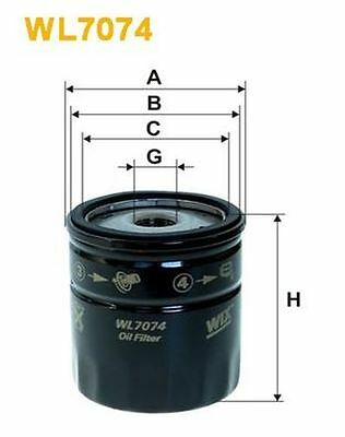 New Oe Quality Wix - Oil Filter - Wl7074