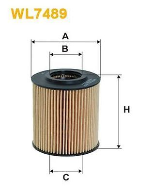To Clear - New Oe Quality Wix - Oil Filter - Wl7489