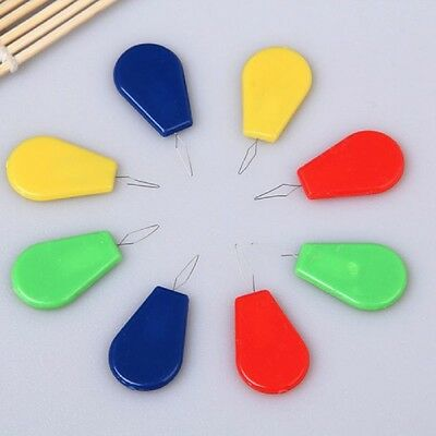 10Pcs/Lot Plastic Wire Stitch Insert Tool Sewing Machine Needle Threader